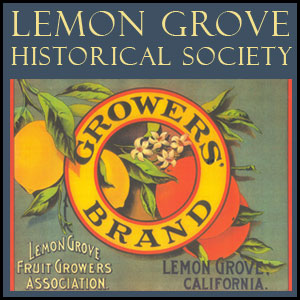 Lemon Grove Historical Society Official Logo