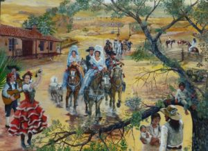 Lemon Grove History Mural Panel 3 - The Mexican Empire
