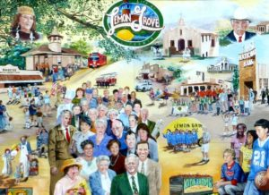 Lemon Grove History Mural Panel 5 - Modern Lemon Grove