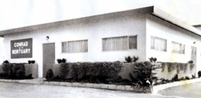 Conrad Mortuary - one of Lemon Grove's Historic Businesses