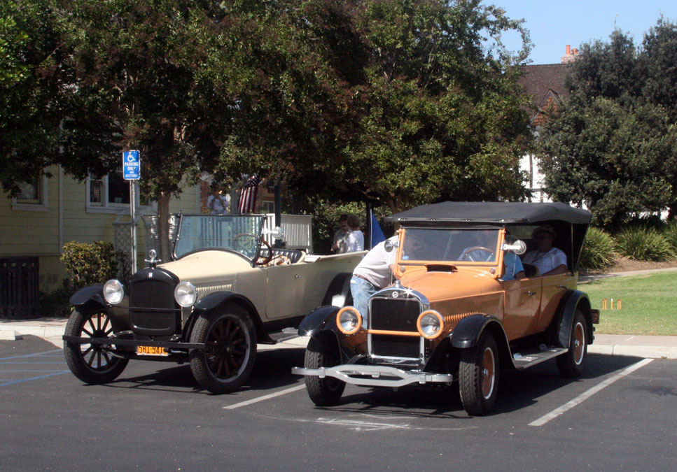 Hupmobiles at the Parsonage Museum