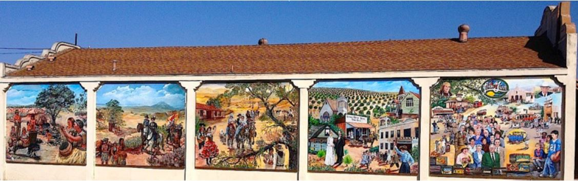 The Lemon Grove History Mural is a project of the Lemon Grove Historical Society completed in 2013. It is located in downtown Lemon Grove, California