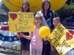 Lemon Grove CA - Big Lemon